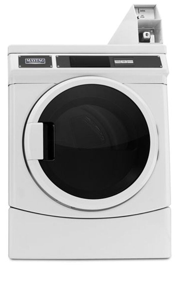 Maytag Commercial Single Load Super Capacity Electric Dryer MDE28PDCYW 81710.1593675530